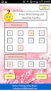 NCEA Japanese Level1 Vocab screenshot 4