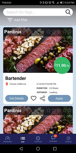 Screenshot for gigRonin Worker App in United States Play Store