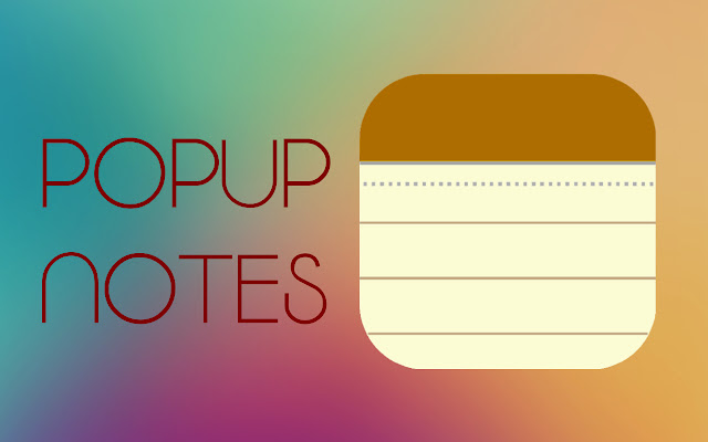 Popup Notes