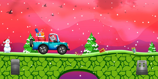 Santa The Racing Game  captures d'écran 1