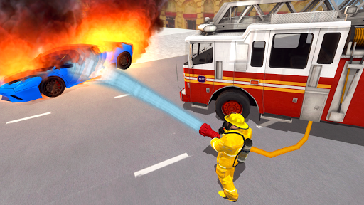 Fire Truck Driving Simulator 1.13 screenshots 5
