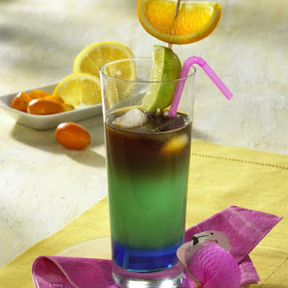Rainbow Cocktail.