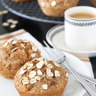 Apple and Cinnamon Oatmeal Muffins.