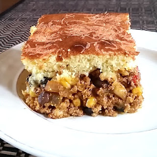 Cornbread Mexican Casserole.