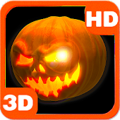 Mysterious Scary 3D Pumpkin