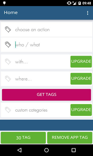 TagGen - Social tags generator