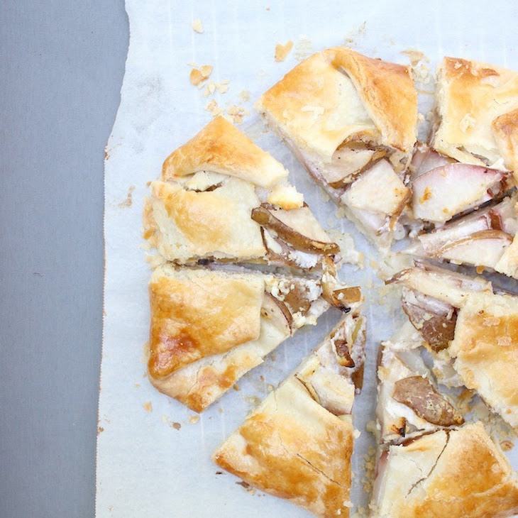 Pear and Goat Cheese Galette Recipe