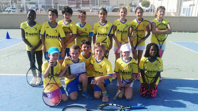 El Club de Tenis Aguadulce gana el Campeonato de Andalucía