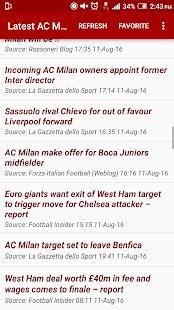 Latest AC Milan News - náhled