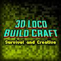 3D Loco Build Craft: Survival and Creative icon