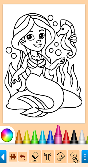 Mermaids screenshot for Android