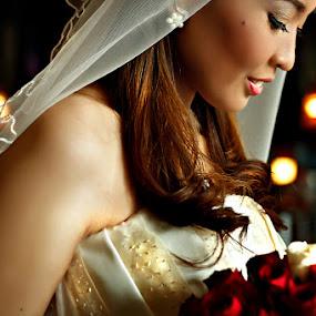 by Russell Baguasan - Wedding Bride
