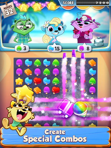 Tropical Treats - Puzzle Game & Free Match 3 Games game (apk) free download for Android/PC/Windows screenshot