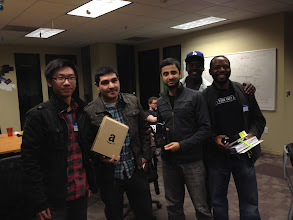 Photo: Say hello to the hackathon winners!