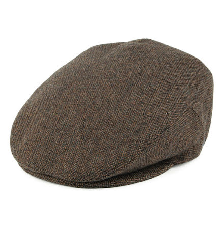 Hereford Flat cap, brun/grön