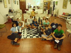 Photo: Visita de Paco Vallejo a la Escuela del Club Escacs Son Dameto 02