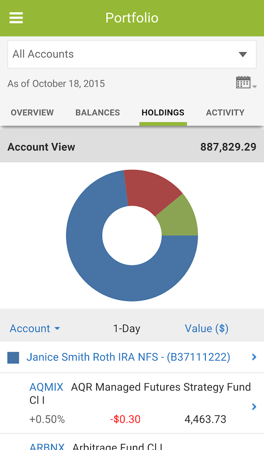 Investor360°®- screenshot