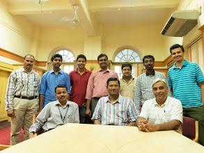 Photo: With Mr. B. Mukhopadhyay