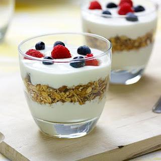 Yoghurt Muesli Cups.