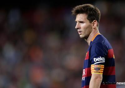 FC Barcelona moet Lionel Messi enkele weken missen