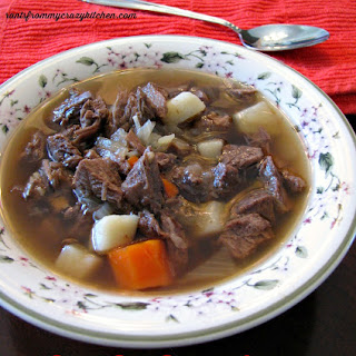 Beef Pot Roast Soup.