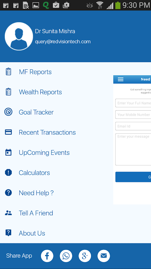Wealth eOffice- screenshot