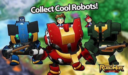 ROBOWAR - Robot VS Alien Screenshot