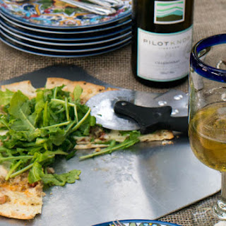 Easy Clam Chorizo Pizza With Arugula Salad