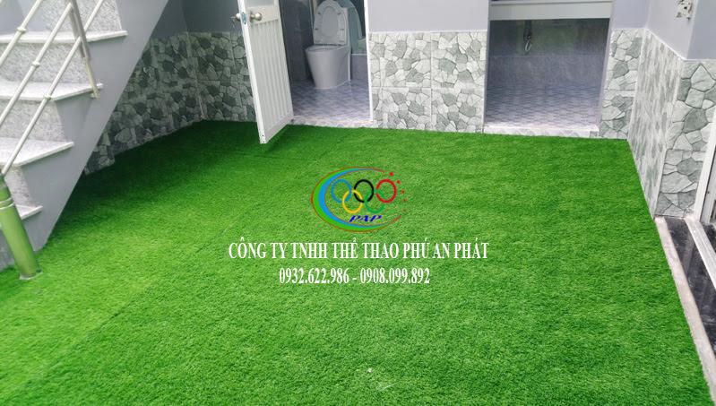 thảm cỏ nhựa ốp tường và cỏ nhân tạo lót lối đi tuyệt đẹp 2018