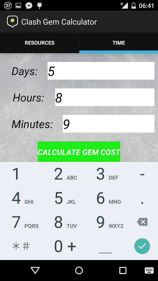 clash gem calculator android apps on play