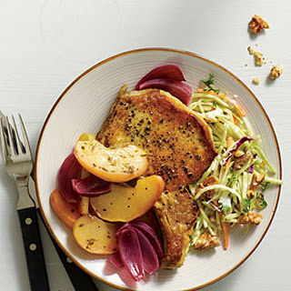 Oven-Baked Pork and Apples