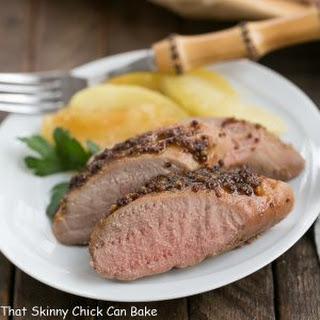 Apple Mustard Pork Tenderloin