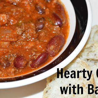 Hearty Chili with Bacon