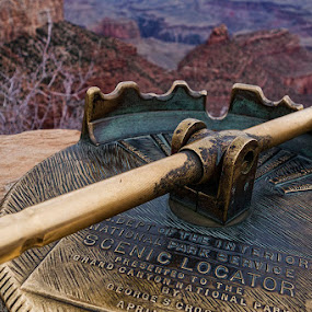 Scenic Locator by Ferdinand Ludo - Products & Objects Industrial Objects ( similar telescope, scene locator, grand canyon, hdr, time scars,  )