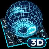 Unduh 3D Next Tech Keyboard Gratis