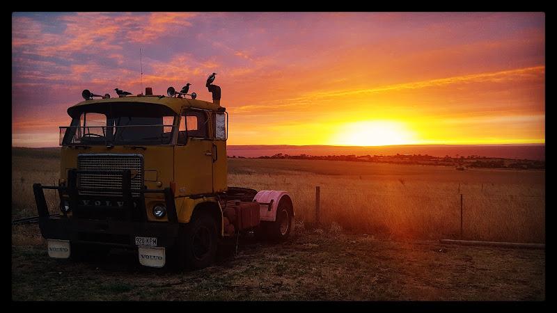 Tramonto a Cape Jervis (Australia) di robypsycho