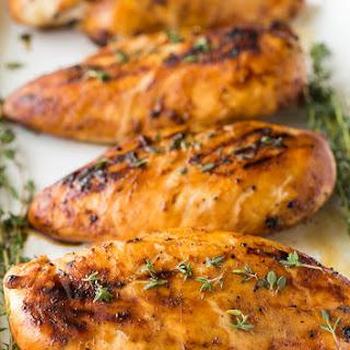 Maple Dijon Grilled Chicken Recipe