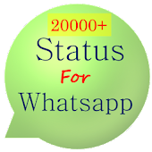 20000+ Status for Whatsapp