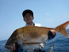 Photo: おおー! デカ真鯛!5kg近くありました!