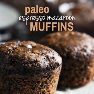 Paleo Espresso Macaroon Muffins