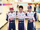 De Toyota van Fernando Alonso, Sébastien Buemi en Kazuki Nakajima wint 24 uur van Le Mans