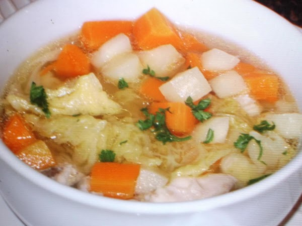 Chicken Soup For The Cold Recipe