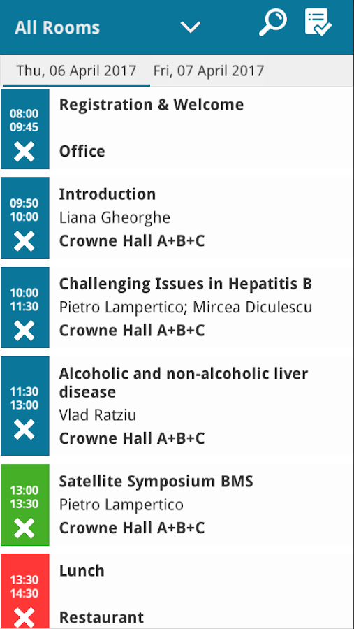 Hepatology Course 2017- screenshot