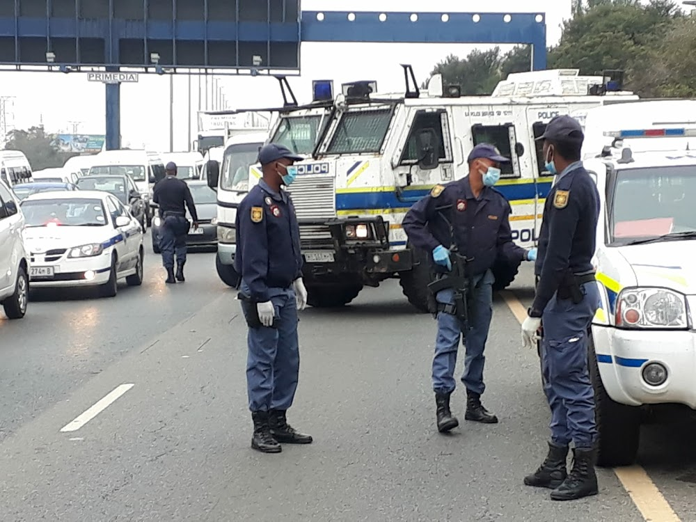 Fikile Mbalula condemns growing number of motorists defying lockdown - SowetanLIVE