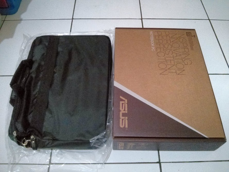Notebook Box and Bag