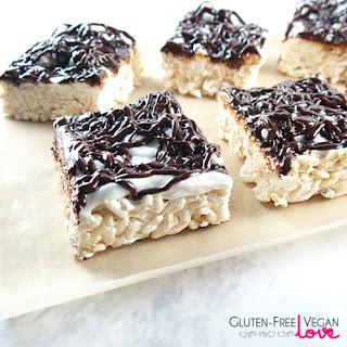 Ooey-Gooey Extra Marshmallow-y Gluten-Free Vegan Rice Krispie Treats