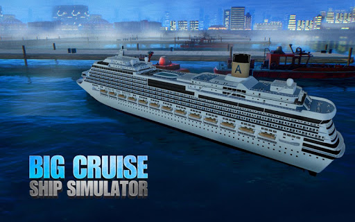 Big Cruise Ship Simulator Games : Ship Games screenshots 23