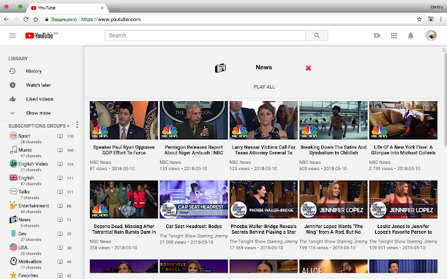 PocketTube: Youtube Subscription Manager - Chrome Web Store