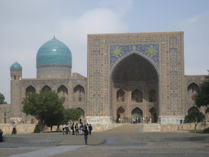 Photo: Samarkand - Tillya Kari Madrassa