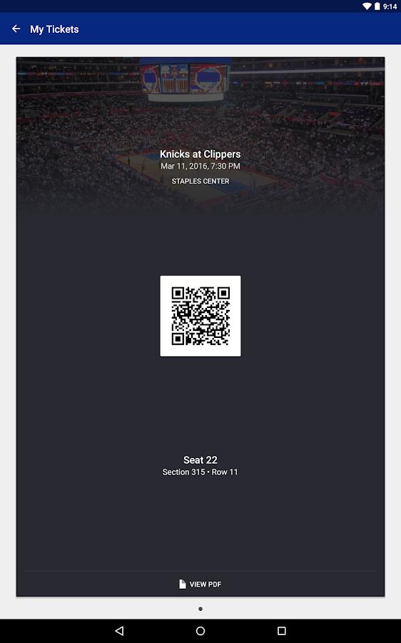 SeatGeek Event Tickets- screenshot